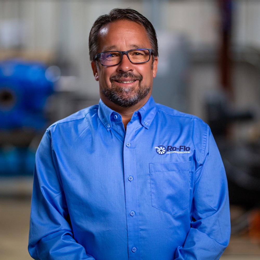 Rob Schreiber, Business Development Manager at Ro-Flo Compressors