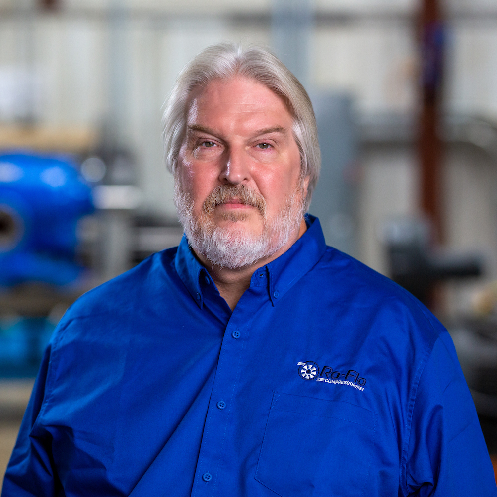 Brad Thern, Vice President and Aftercare Specialist at Ro-Flo Compressors